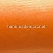 Атласная Лента Skroll, Ширина: 12 мм, Оранжевая