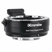Адаптер Commlite CM-EF-FX для оптики Canon EF на байонет Fuji X-mount