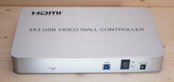 Контроллер видеостены - AVE HDVW 9U (3x3,2x3,3x2,4x1,4x2,1x4,2x4)
