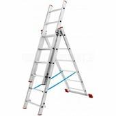 Лестница трехсекционная Новая Высота (3х7 ступеней)