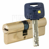 Цилиндровый механизм ключ-шток Mul-T-Lock MT5+ 95 mm 35+10+50 латунь