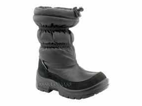 215004-01 Нордман Джампер (Nordman Jumper), сапоги детские зимние, черный, шерсть