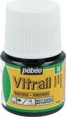 Pebeo Краска для стекла и металла Vitrail лаковая прозрачная цвет 050-014 желтый 45 мл
