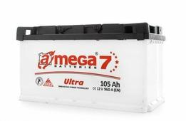 Автомобильный аккумулятор A-mega Ultra (105 A/h), 960А R+