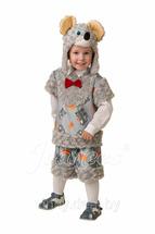 Карнавальный костюм Мышонок Шустрик (Плюшки-зверюшки) Арт. 5308 28 (рост 110 см)