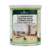 BORMA WACHS (Борма) Масло для паркета 2-х компонентное с твердым воском - 5 л, Производитель: Borma