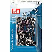 Английские булавки со спиралью стальные Prym 18 шт 085122