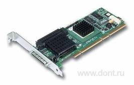 RAID контроллер LSI Logic MegaRAID SCSI 320-1 128MB RAID 0/1/10/5/50 (PCI64) (LSI00026)