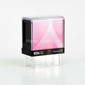 Оснастка для штампа Colop Printer 10 чёрно-розовая