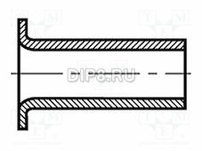 B3X4/BN572, Заклепка, латунь, диаметр 3мм, длина
