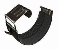 Соединитель водосточного желоба Grand Line Optima 125/90, круглое сечение, шоколад