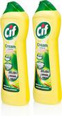 Чистящее средство Cif Cream лимон, 2х500 мл
