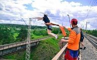 Роупджампинг/Тарзанка - экстремальный прыжок с веревкой с моста