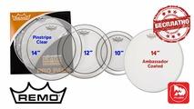 Набор пластиков remo pp-0110-ps pinstripe pro pack