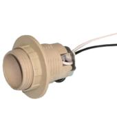 Патрон Е14 для люстры с прижимным кольцом и проводом