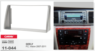 CARAV 11-044 - GEELY FC,Vision 2007-2011