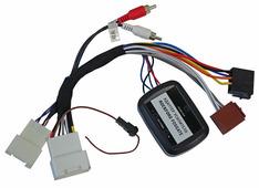 Адаптер штатного усилителя Incar AMP-MT01W - Адаптер подключения штатного усилителя Mitsubishi / Citroen / Peugeot (Rockford Forsgate)