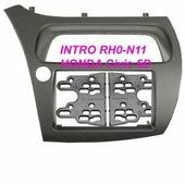 Переходная рамка для установки магнитолы Incar RHO-N11 - Переходная рамка Honda Civic VIII 2006+ (H/B 5D) 2din (крепеж)