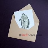 All Write Открытка почтовая Рыба, A6