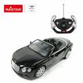 Машина радиоуправляемая Rastar Bentley Continetal GT, 49900B, черный