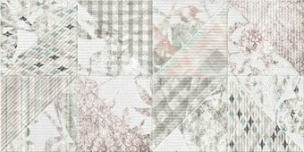 Beryoza Ceramica Скарлетт светло-серый Декор 4 60x30