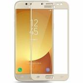 Защитное стекло Aiwo Full Screen Cover 0.33 mm Gold Samsung J330F Galaxy J3 (2017)