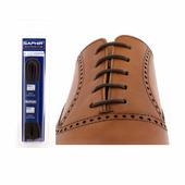 Шнурки Saphir 150см. круглые, тонкие (05 тем.коричневый)