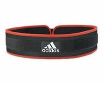 Пояс тяжелоатлетический Nylon Weightlifting Belt черно-красный (размер XXL)