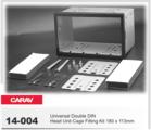 Переходная рамка для установки магнитолы CARAV 14-004 - Универсальная корзина для крепления 2-DIN магнитолы