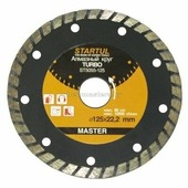 Алмазный круг 125х22мм TURBO STARTUL MASTER (ST5055-125) (ST5055-125)