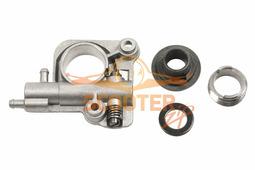 Маслонасос для бензопилы ECHO CS350WES/TES, 2600, 2700, 270WES, 260TES (комплект червяк+привод+ шайба)