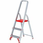 Стремянка алюминиевая профессиональная Новая Высота (3 ступени)