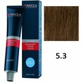 Стойкая ухаживающая краска Profession Permanent Caring Color ТОН 5.3 , 60мл(Indola Professional)