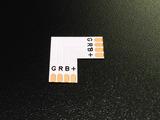 Коннектор угловой 90 градусов 10мм RGB