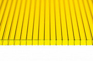 Поликарбонат сотовый Ultramarin Желтый 4 мм