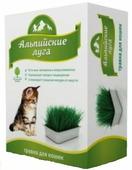 Злаки для животных Травка для кошек Альпийские луга (лоток)