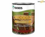 Пропитка масло Teknos WOODEX Hard Wood Oil Brown, коричневый 1,0л, шт, Финляндия