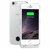 Чехол аккумулятор для iPhone 5 / SE Silver, 2200 мАч, INTERSTEP 45546