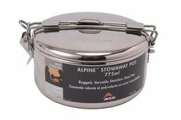 Кастрюля MSR с крышкой Alpine Stowaway Pots 775 ml 0.775Л