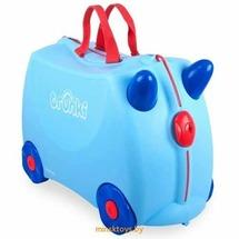 Чемодан детский на колёсах голубой Джордж - Trunki 0166-GB01