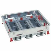 Суппорты для горизональной установки с регулировкой по высоте стандартное исполнение 12-18 модулей. Цвет Серый. Legrand (Легранд). 088021