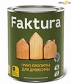 Грунт-пропитка FAKTURA, бесцветный, для древесины, банка 0,7л, шт.