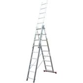 Лестница-стремянка трехсекционная KRAUSE Corda 3x9 ступеней (010391)