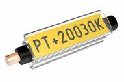 Маркер Partex PT+10 c карманом, длина 21 мм, Ø 2.5-5.0 мм, прозрачный (200 шт.) {PT+10021A}