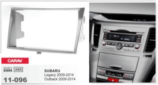 CARAV 11-096 - SUBARU Legacy, Outback 2009+ 2-DIN