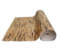 Бамбуковые обои, ламель 17мм, шоколадная черепаха, шир. 1,5м