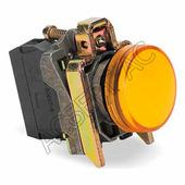 Лампы, кнопки, звонки, переключатели желтая лампа со встроенным светодиодом 24V Schneider Electric