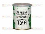 Подарочный набор для выращивания Каждый мужчина в своей жизни должен! (ель), арт 414112
