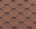 Гибкая битумная черепица RoofShield Стандарт Classic Песочный