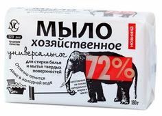 """Традиционное хозяйственное мыло """"72%"""", универсальное, 180 г"""
